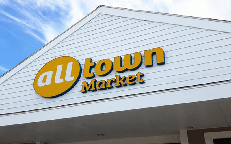 Alltown Market Branding