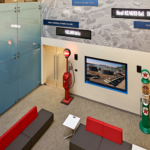 Interior Signage and Installations at Global Partners Headquarters